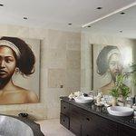 Villa One's master suite bathroom