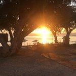 Sonnenaufgang am hoteleigenen Strand