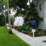 Entering Little White House grounds