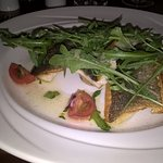seabass, with side dish of champ too.