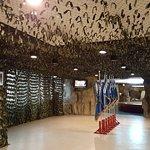 金城民防坑道展示館感受戰地氣氛
