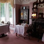 The breakfast lounge at the Edwardian