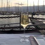 Overlooking the Marina, Playa Blanca opposite the restaurant
