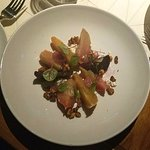 Lavelle - Beetle & Goat cheese salad - Love!