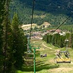 ski lift to up for a nice hike