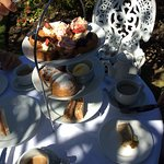 Our tea and cakes.