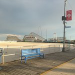 I wanted to ride the woodie but as it was the off season only one pier was operating
