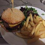 Cheeseburger délicieux!!!