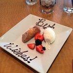 A special birthday dessert
