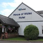 The Hotel has a Large Car Park & is located on the A38