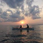 Sunrise kayaking!