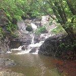 Waterfall (trek in the jungle)