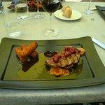 Filet de canard sauce framboise
