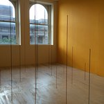 school transformed into gallery