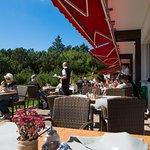 Terrasse vom Schliffkopf- Hotel
