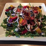 Milestones roasted beet & goat cheese salad