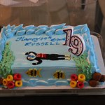 Birthday cake from Kirk Market