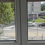 Blick aus Badezimmerfenster