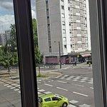 Blick aus Zimmerfenster