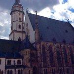 Thomas Kirsche, wher Johann S Bach wrote his music.