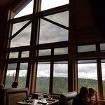 View from dining room toward Denali