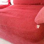 Sofá destrozado
