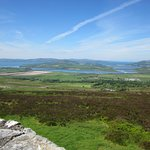 Inch Island and Lough Swilly from Grianan of Aileach