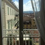 View from the bedroom of Le Dortoir