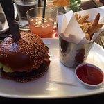 Rogue Kitchen & Wetbar - Famous Rogue Burger & fries