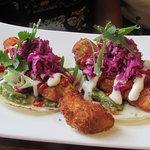 Fish Tacos.