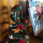 Christmas tree made of horseshoes!!!!