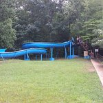 This is the picture of the fun slide