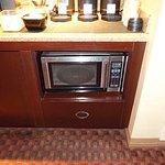 Sheraton club microwave oven
