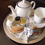 Tea service in suite - butler service