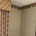 Matching curtains and ceiling edging
