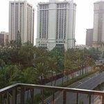 Overlooking Ala Moana Blvd