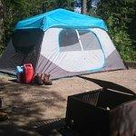 Campsite at Tulabi Falls Campground