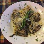 Ravioli in Pesto