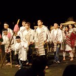Cultural performance by the staff and kids of staff