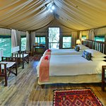 Tents at Ichingo Chobe River Lodge