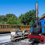 Locomotive et ses wagons