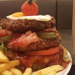 Big Bus Burger eine Geschmacksrakete