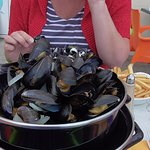 The best moules frites in the area