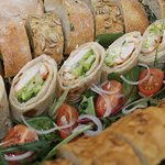 wrap catering