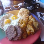Super Size Texas Breakfast!