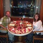 Table with a fantastic view of the Nile