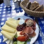 combination meat/cheese platter