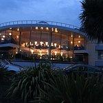 Views of the Hotel and Bar at night!!!
