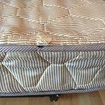 worn mattress