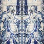 Azulejos do átrio